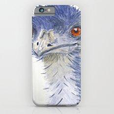 emu watercolour iPhone 6s Slim Case