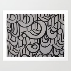 Linework 1 Art Print