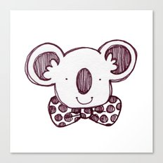HI I'm a Koala Canvas Print