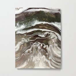 River Rushing Metal Print