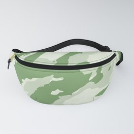 Colorful Marble Stylish Light Greens Fanny Pack