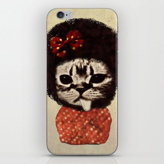 Cat (Pack-a-cat) iPhone & iPod Skin