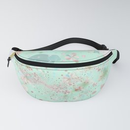 Peppermint and Butterscotch Fanny Pack