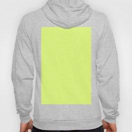 Dense Melange - White and Fluorescent Yellow Hoody