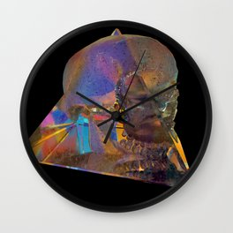 Crystal_Head Wall Clock