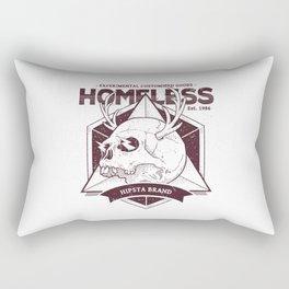 Homeless Skull #2 Rectangular Pillow