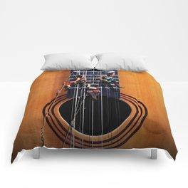 Surreal Guitar Climbers  Comforters