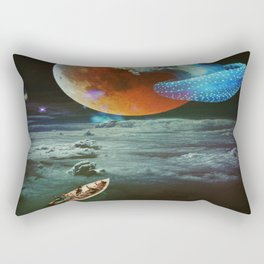 Go Back To The Ancestry Rectangular Pillow