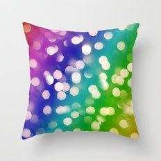 Lights & Gradients VI Throw Pillow