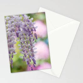 Rustic Wisteria Textured Stationery Cards