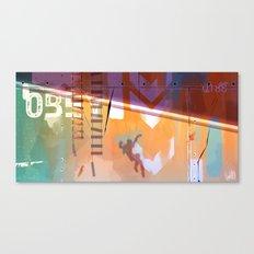 The Escape Canvas Print