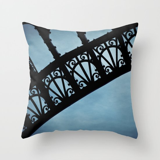 Electrify Throw Pillow