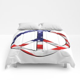Peace Sign Comforters