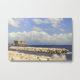 Napoli. Castel dell'Ovo Metal Print