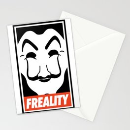 Dali Mr. Robot Obey FSociety Stationery Cards