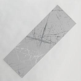 Silver Splatter 089 Yoga Mat