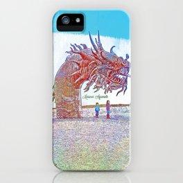 Anza - Borrego Desert Sea Dragon iPhone Case