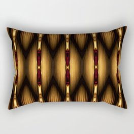 Bamboo Spear Pattern Rectangular Pillow