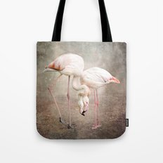 The convoluted conversation of the necks Tote Bag