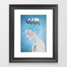 Sailor's Daughter Framed Art Print