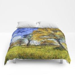 Summer Farm Van Gogh Comforters