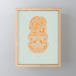 Hei Tiki Framed Mini Art Print