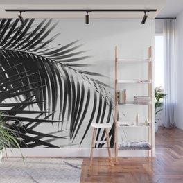 Palm Leaves Black & White Vibes #3 #tropical #decor #art #society6 Wall Mural