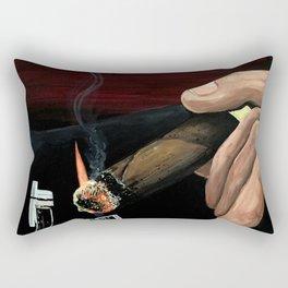 Relaxing Moment Rectangular Pillow
