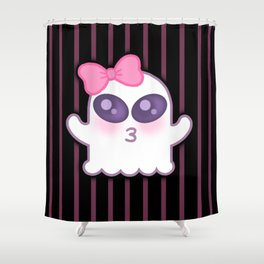 Cute Spooky Shower Curtain