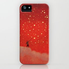 Constellation - Red iPhone Case