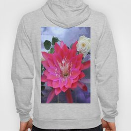 Roses Are White, Cactus is Rose... Hoody