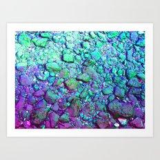 Rocks #1 Art Print