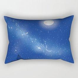 Eeyore-A Lonely Night Rectangular Pillow