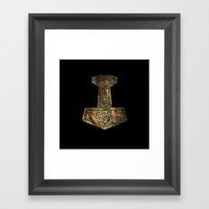 Mjolnir Framed Art Print