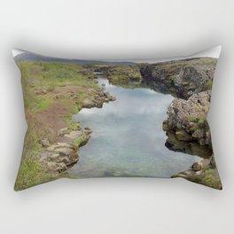 Thingvellir Iceland Rectangular Pillow