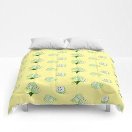 Soursop - Singapore Tropical Fruits Series Comforters