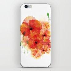 Tall poppies iPhone & iPod Skin