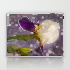 Rain drops Iris Laptop & iPad Skin