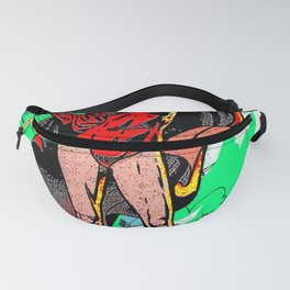 Red Worm Queen - 2 Fanny Pack