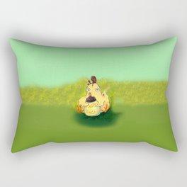 Chicken Parade Rectangular Pillow