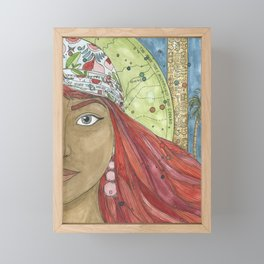 Shiphrah Framed Mini Art Print