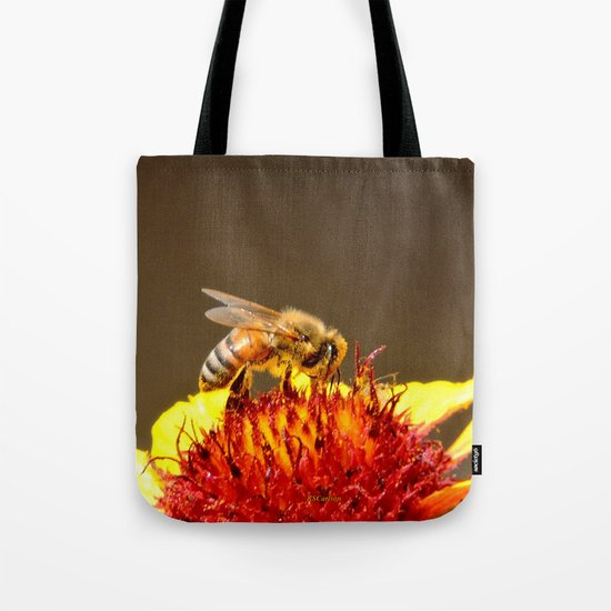 Pollenator at Work Tote Bag