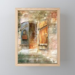 The Front Door Framed Mini Art Print