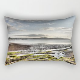 Paignton Beach  Rectangular Pillow