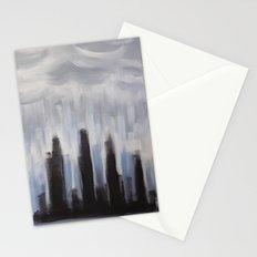 GLOOMY CITY Stationery Cards