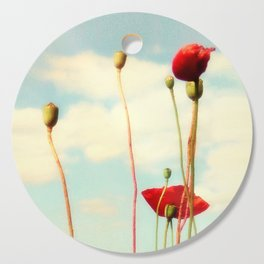 Lost Poppies Cutting Board
