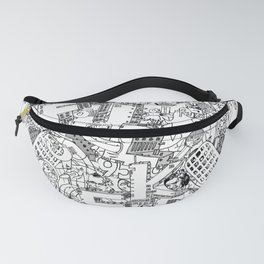 Fucked ( All Over ) Jx3 T-Shirt Fanny Pack