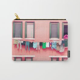 Laundry Venice Italy Travel Photography Carry-All Pouch