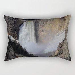 The Lower Falls Rectangular Pillow