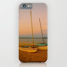 Two Boats at Sunset iPhone 6s Slim Case